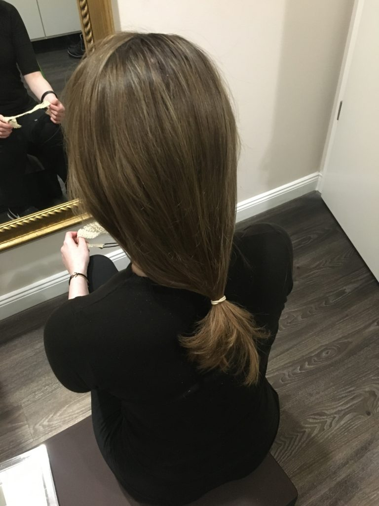Pferdeschwanz - Minimalist - Philomena - Conditioner - Hochsteckfrisur - DIY - Do it yourself - Haarpflege - natürliche Haarpflege