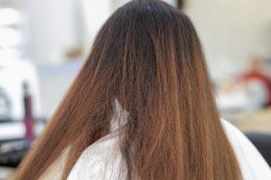 Trockenes, langes Haar