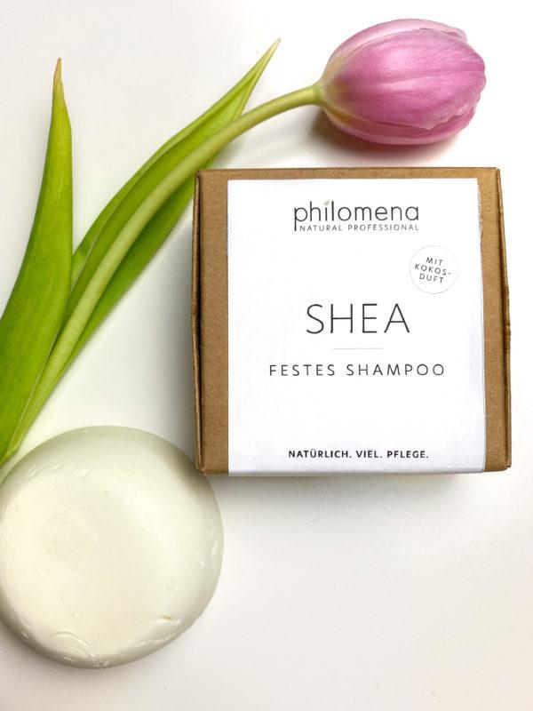 Philomena festes Shampoo mit Kokosduft